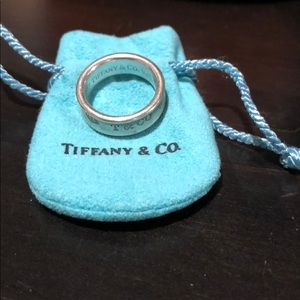 Tiffany & Co 1997 sterling silver ring